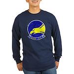 VAW 112 Golden Hawks Long Sleeve Dark T-Shirt