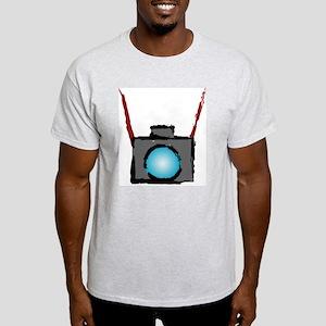 WTD: Camera On Ash Grey T-Shirt