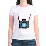 WTD: Camera On Jr. Ringer T-Shirt