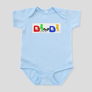 Di Di Panda Infant Bodysuit