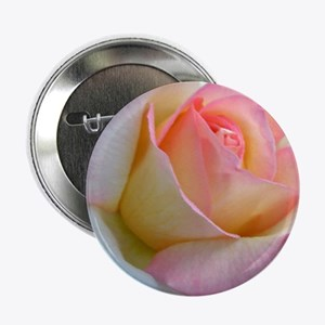 """SOFTLY ROSE 2.25"""" Button"""
