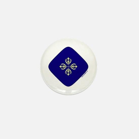 Khanda and Ek Onkar - Mini Button