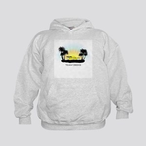 NCISLA Sunset Palms Team Deeks Kids Hoodie