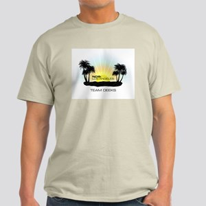 NCISLA Sunset Palms Team Deeks Light T-Shirt
