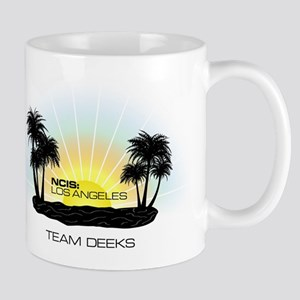 NCISLA Sunset Palms Team Deeks Mug
