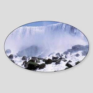 Niagara Falls (US) Oval Sticker