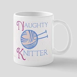 Naughty Knitter Mugs