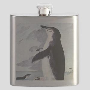 Vintage Chinstrap Penguin Flask