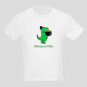 Irishsaurus O'Rex Kids T-Shirt