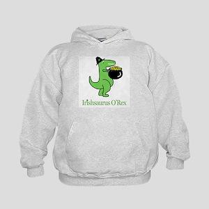 Irishsaurus O'Rex Kids Hoodie