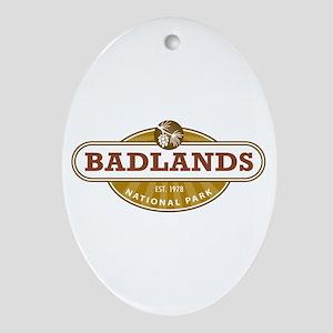 Badlands National Park Ornament (Oval)