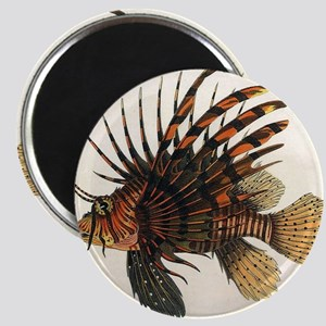 Vintage Lionfish Magnet