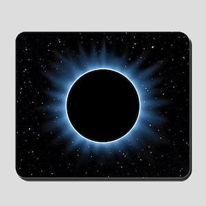 Solar Eclipse Mousepad