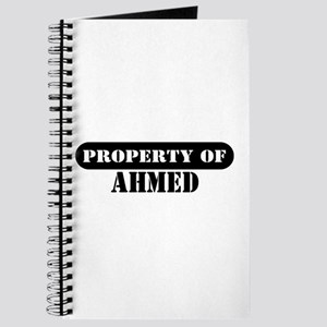 Property of Ahmed Journal