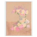 Country Urn Bouquet Small Poster