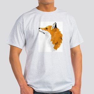 Fox Profile Ash Grey T-Shirt