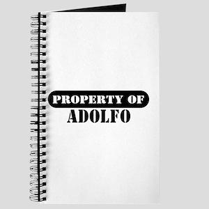 Property of Adolfo Journal