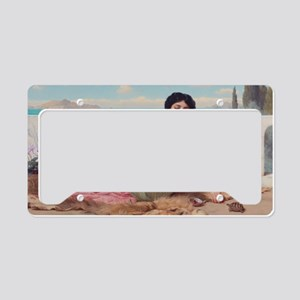 The Quiet Pet by John William License Plate Holder