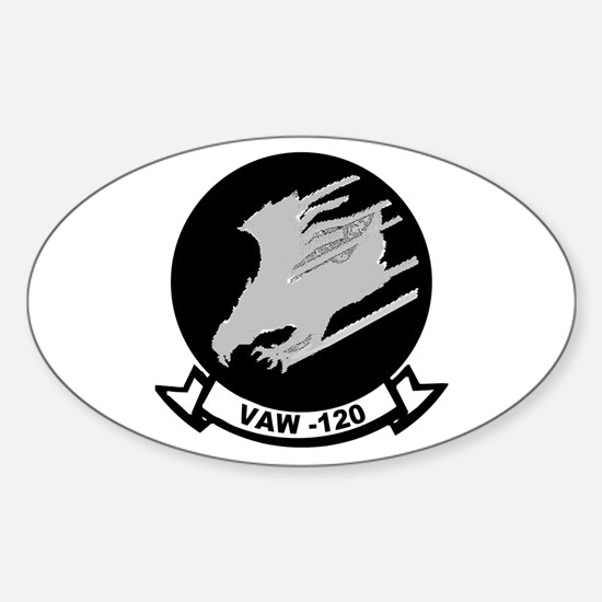 VAW 120 Greyhawks Oval Decal