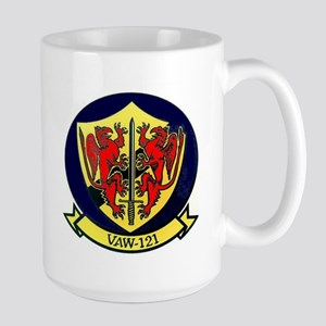 VAW 121 Blue Tails Large Mug