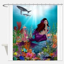 mermaid and pirate shower curtain mermaid and pirate shower curtains mermaid and pirate 253