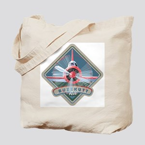 Buzzkutt Airplane Tote Bag