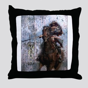 Ronin Rider Throw Pillow