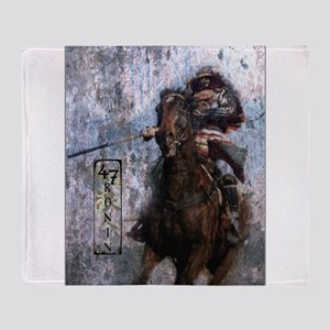 Ronin Rider Throw Blanket
