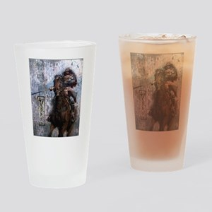 Ronin Rider Drinking Glass