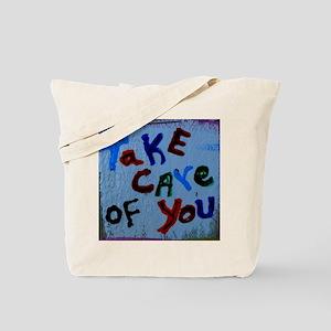 take care of you Tote Bag