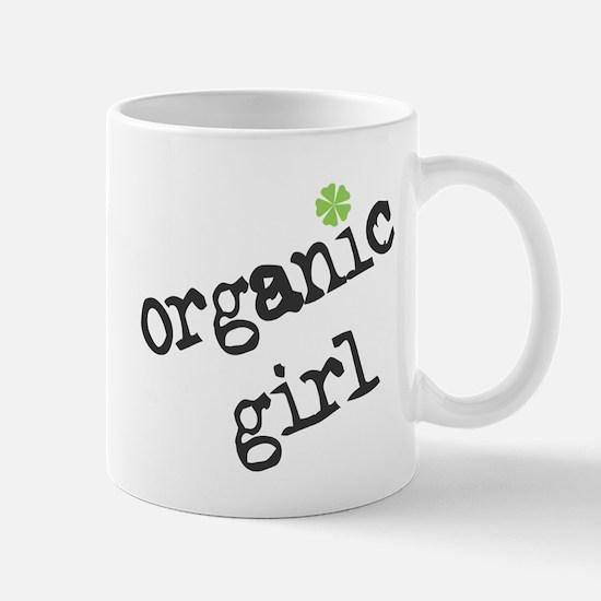 Organic Girl (Green Flower) Mug