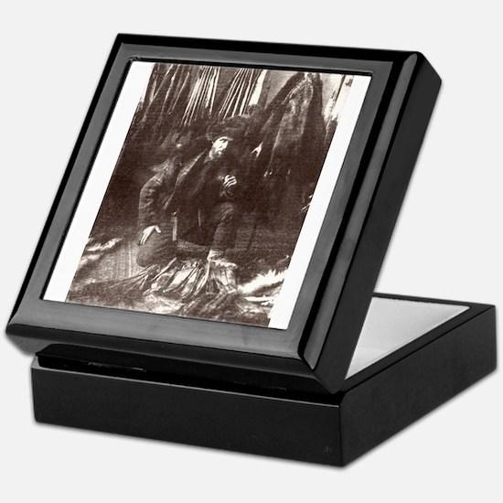1919 Trapper Keepsake Box
