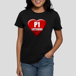 P1 Love Women's Dark T-Shirt