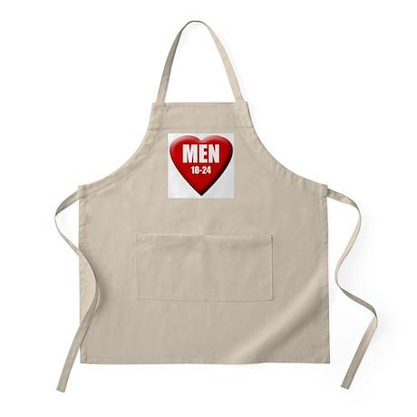 Men 18-24 BBQ Apron