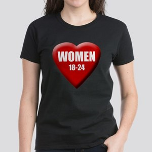 Women 18-24 Women's Dark T-Shirt