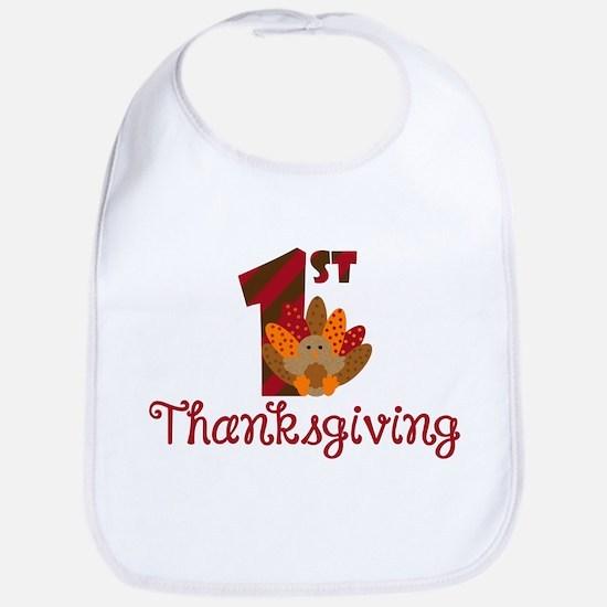 1st Thanksgiving Bib