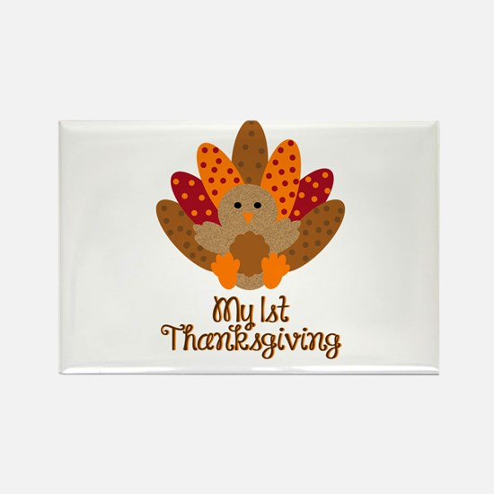 My 1st Thanksgiving Magnets