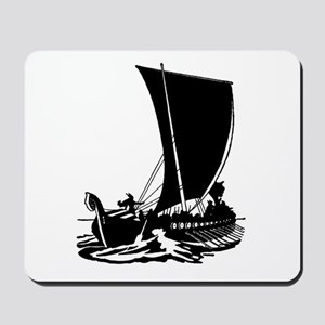 Viking Longship Mousepad