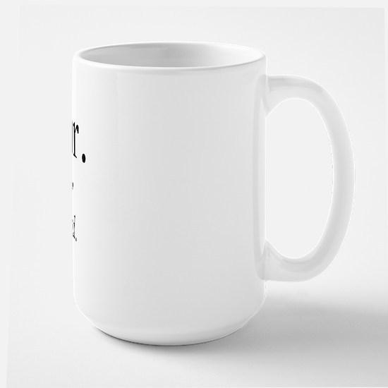 Dead Air Large Mug