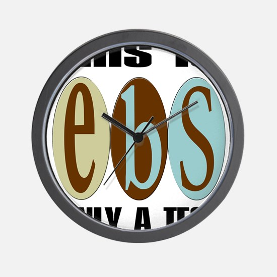 EBS Test Wall Clock