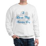 Love My Therapy Dog Sweatshirt