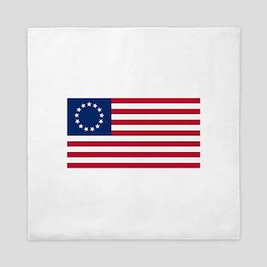 The Tea Party Flag Queen Duvet