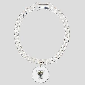 Valhöll Viking Warrior Charm Bracelet, One Charm