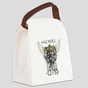 Valhöll Viking Warrior Canvas Lunch Bag
