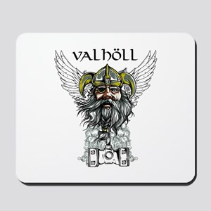 Valhöll Viking Warrior Mousepad
