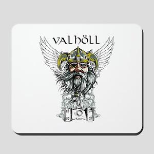 Valhöll Viking Warrior Mousepad
