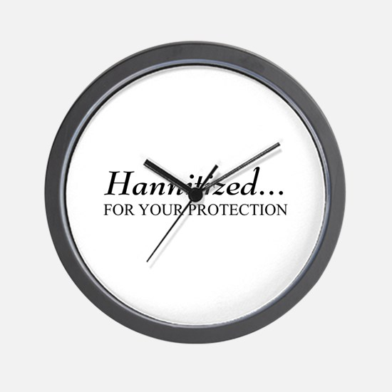 Hannitized Wall Clock