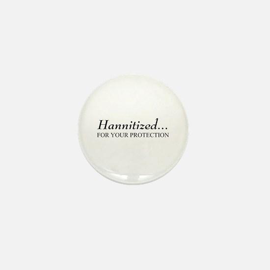 Hannitized Mini Button