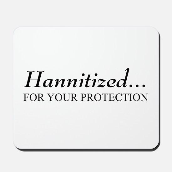 Hannitized Mousepad
