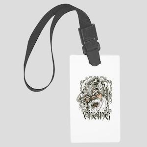 Viking Warrior Large Luggage Tag